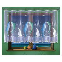 Firanka Delfiny wysokość 120 cm - Pokój dziecięcy | WN3535 120