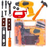 Walizka skrzynka z narzędziami Dla Dzieci Wkrętarka 14 elementów U40