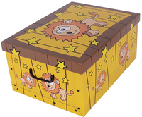 Pudełko Kartonowe Maxi Sawanna Lew