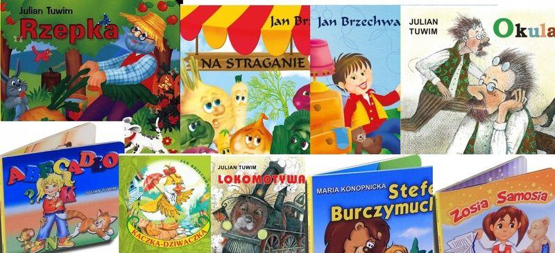 Klasyka bajek dla dzieci 10 kartonowych książek ok • Arena.pl