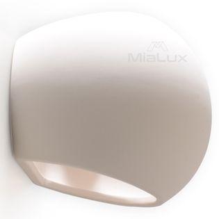 Lampa Kinkiet Ceramiczny AVALANCHE Biały