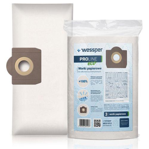 Worki papierowe Wessper WES1012 ProLine Eco do Karcher Kress 3 szt na Arena.pl