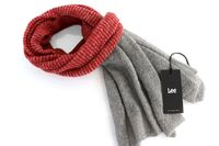 LEE MOHAIR SCARF LAVA RED LD0734AF $ ONE SIZE