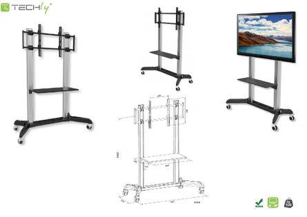 "Stojak mobilny LCD/LED Techly ICA-TR9  31-70"" / 128 kg"