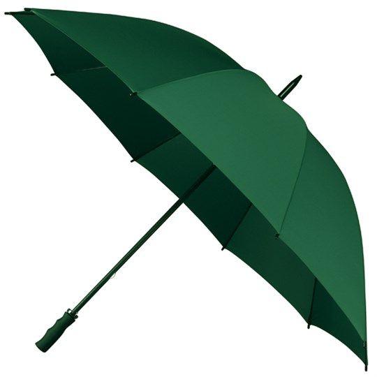 Bardzo duża, wytrzymała parasolka w kolorze zielonym zdjęcie 1
