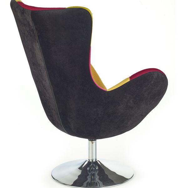 Oryginał BUTTERFLY HALMAR Wypoczynkowy fotel obrotowy do salonu ART DECO AR24
