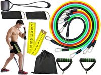 Zestaw 5 Gum Oporowych Do Ćwiczeń Crossfit Fitness