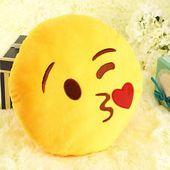Poduszka Emoji Całus Dekoracyjna