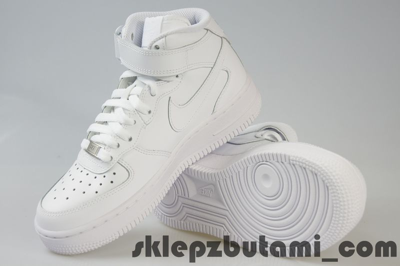 Nike Air Force 1 Mid GS 314195 004 r.38 + GRATIS
