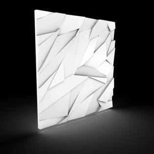 Dekoracyjne Panele Ścienne 3D 60x60 - BETON Architektoniczny Szafir