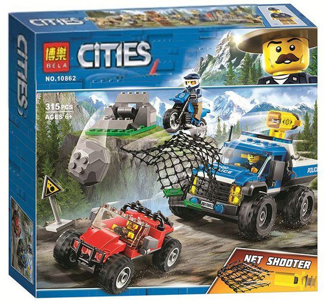 Klocki City Pościg Górską Drogą Policja Pasują Z Lego Arenapl