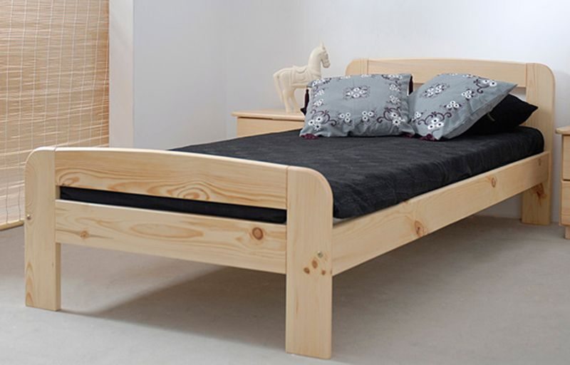 łóżko Drewniane 90 Klaudia Sosna Magnat