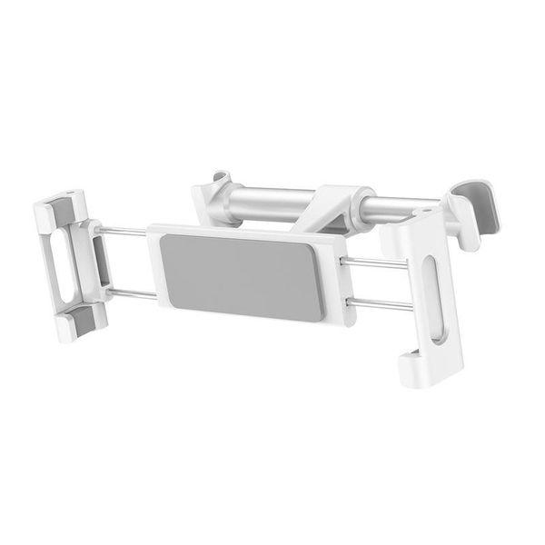 Uchwyt na zagłówek Baseus Backseat dla tabletów i smartfonów (srebrny) zdjęcie 1