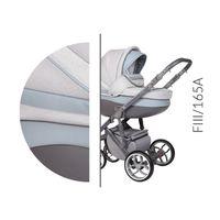 Wózek dziecięcy Faster 3 Style Baby Merc wielofunkcyjny szaro-niebieski 3w1
