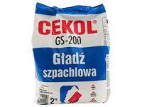 Gładź szpachlowa biała Cekol GS-200 (2 kg)