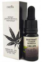 Ekstrakt z Konopi Siewnych 20% India 10 ml CBD olej konopny Cannabis