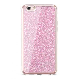 Etui Nakładka Electro Glitter  IPHONE 6/6S Rosegold