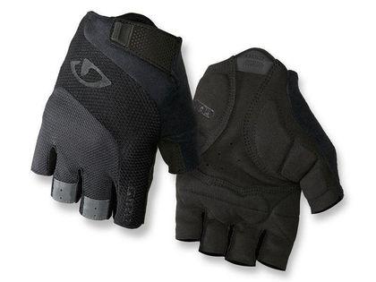 Rękawiczki męskie GIRO BRAVO GEL krótki palec black roz. XXL (obwód dłoni od 267 mm / dł. dłoni od 211 mm) (NEW)