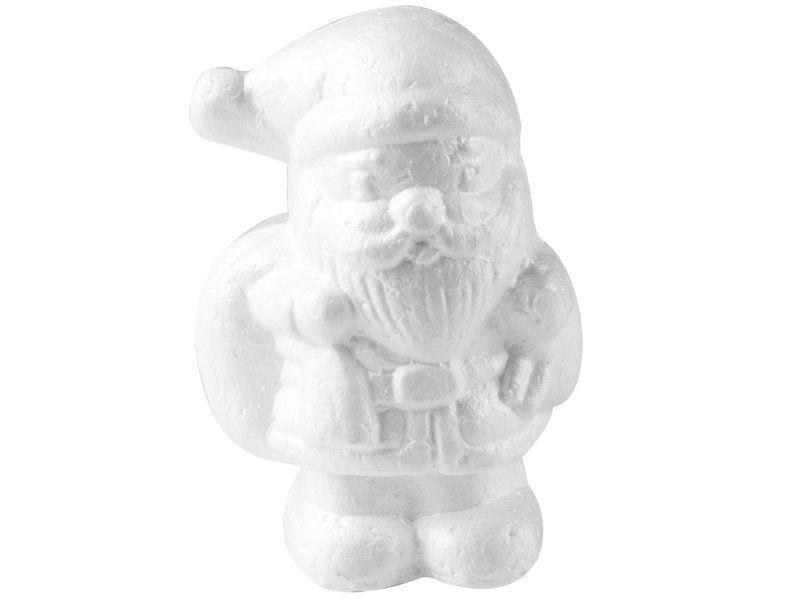 Mikołaj styropianowy 11cm na Święta zdjęcie 1