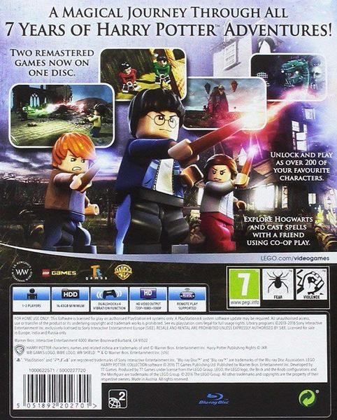 Lego Harry Potter Collection 2 Nowe Gry na PS4 zdjęcie 3