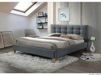 Łóżko TEXAS szare 160x200