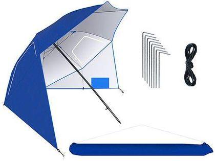 Parasol plażowy leżący 260 cm