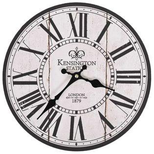 Zegar Ścienny Vintage London Do Kuchni, 30 Cm