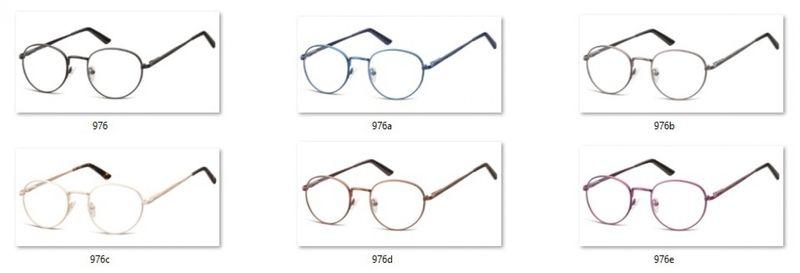 d181a1bfaf0d Lenonki zerówki oprawki okulary korekcyjne złote • Arena.pl