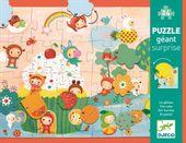 DJECO Puzzle z niespodzianką 24 elementy