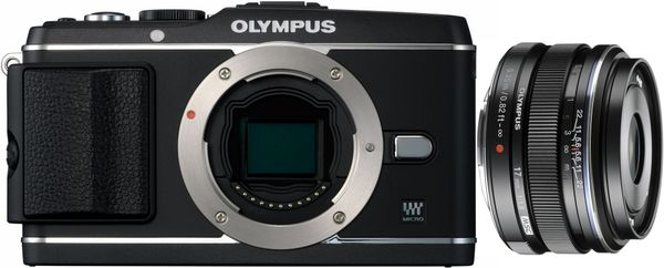 Olympus PEN E-P3 17mm F1.8 Aparat Obiektyw