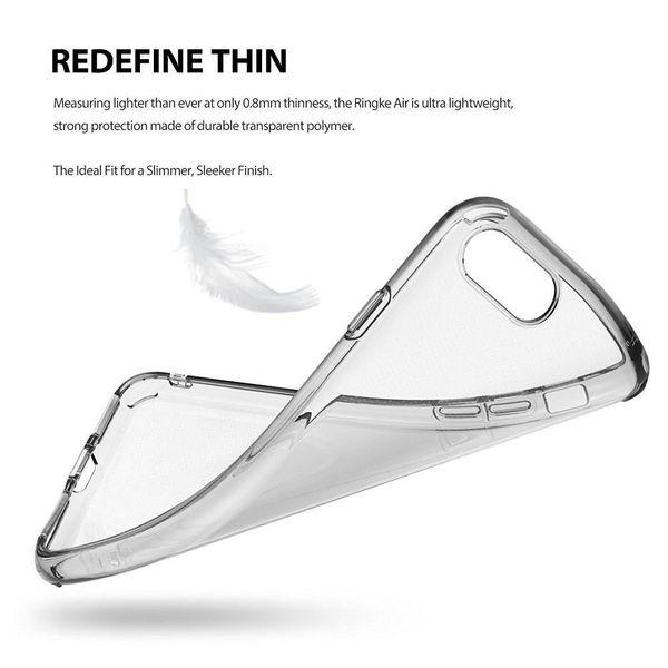 Etui Ringke Air Apple do iPhone 8/7 czarne zdjęcie 4