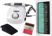 Frezarka do manicure DM208 (frezarka telefon) moc 40W 42 frezów - Biała