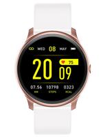 ZEGAREK DAMSKI Rubicon Smartwatch - white/rosegold (zr605e)