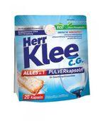 Kapsułki proszkowe do zmywarki Herr Klee C.G. Alles in 1 20 sztuk