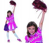 Barbie CHEERLEADERKA Czirliderka Strój na Bal 104