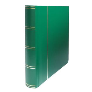 Klaser na znaczki Basic 60 stron zielony