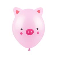 Balony świnka, 30 cm 3 szt.