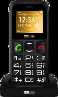 Telefon komórkowy MAXCOM MM426 z SOS dla Seniora