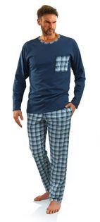 Bawełniana piżama męska Sesto Senso 06 XXL