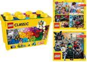 LEGO CLASSIC 10698 KREATYWNE KLOCKI + 2 KATALOGI