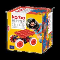 KLOCKI Korbo Hummer Red 25