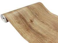 Folia Samoprzylepna Okleina Meblowa Drewno DĄB RIBBEC 45 x 50cm C105