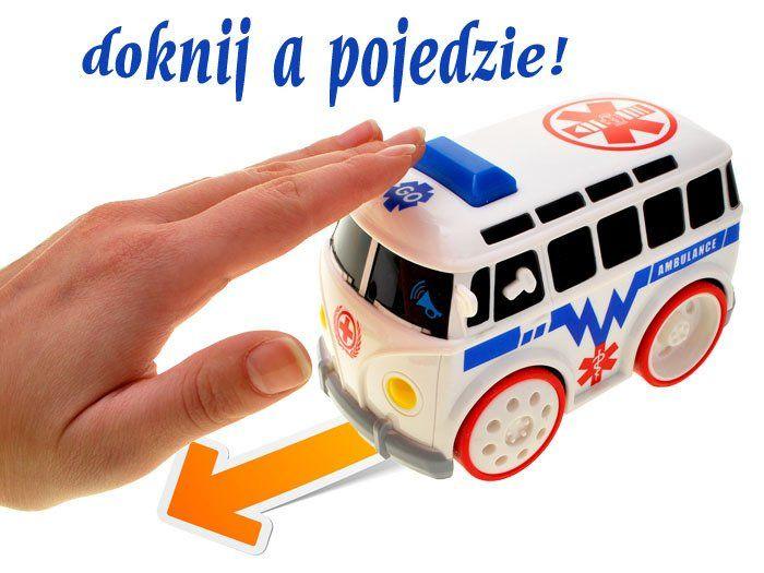 Auto autobus – dotknij a pojedzie: dźwięk, światło zdjęcie 3