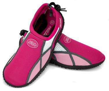 Buty do wody AQUA SHOE MODEL 17 Rozmiar - Obuwie plażowe - 35, Kolor - Obuwie plażowe - Model 17 - B - różowy / jasnoróżowy / biały