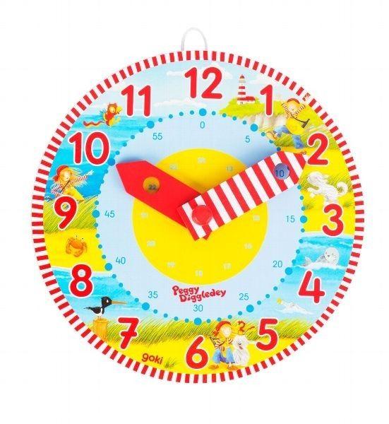 Zegar do nauki godzin Peggy Diggledey GOKI zdjęcie 1