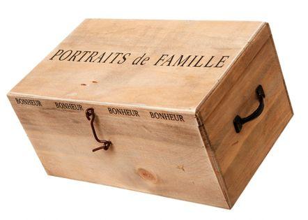 Albumy Zdjęć W Drewnianym Pudełku