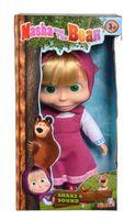Simba: Masza i Niedźwiedź - Lalka Miękka w klasycznej sukience