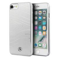 Mercedes MEHCI8OLBRSI iPhone 7/8/SE 2020 hard case srebrny/silver Aluminium Organic III