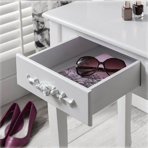 Toaletka Kosmetyczna Duże Lustro + Hoker 001 zdjęcie 4