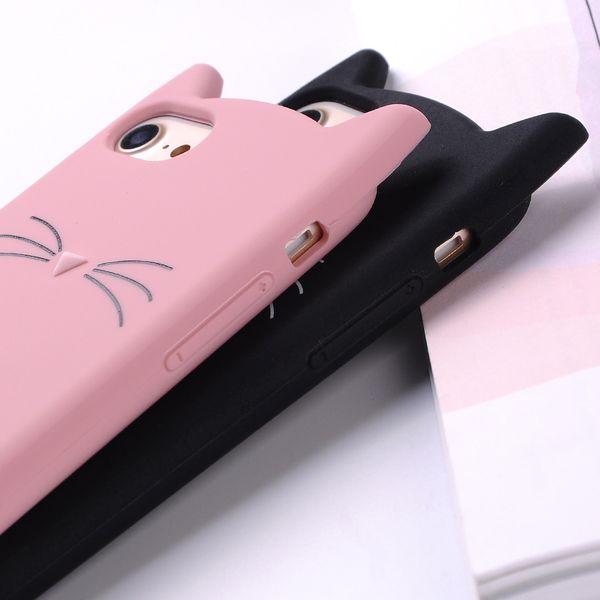 ETUI Case iPhone X Uszy Wąsy Kot zdjęcie 7